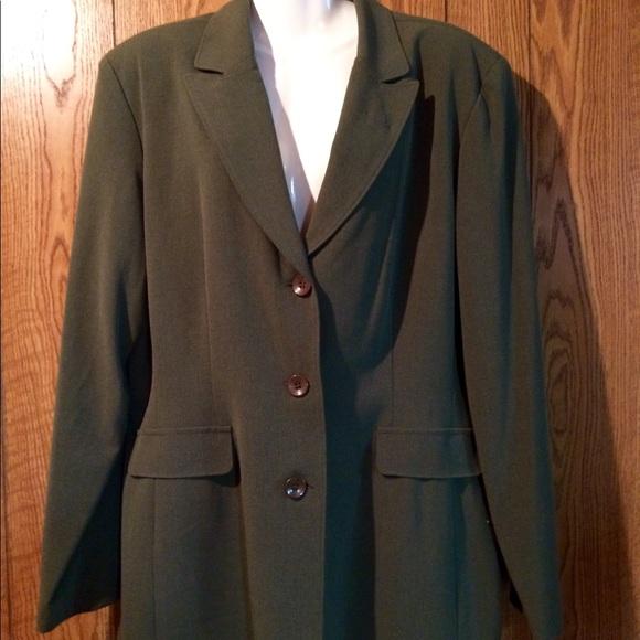 d4f9740f5724e Jackets & Coats | Danny Nicole Womens Blazer Plus Size 18 | Poshmark